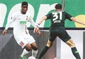 فوتبال جهان|صعود ولفسبورگ به رده پنجم با برد دقایق پایانی مقابل آگزبورگ