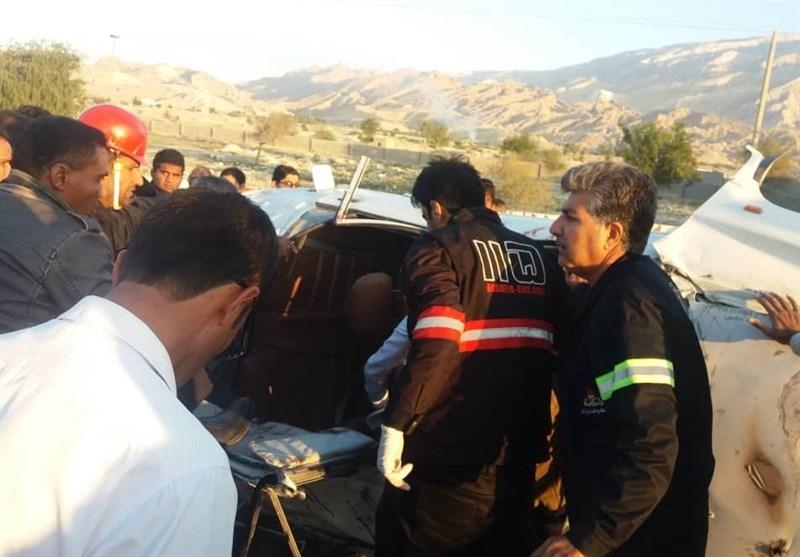 2 کشته و 4 زخمی در پی 2 تصادف در استان بوشهر