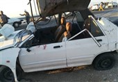 تصادف در اتوبان قم- کاشان 4 کشته بر جای گذاشت