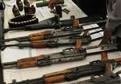 کراچی میں سیکیورٹی فورسز کی کارروائی اسلحے کا گودام دریافت