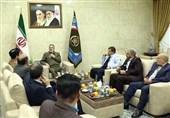 جمعی از نمایندگان مجلس با فرمانده ارتش دیدار کردند