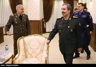 سردار قدیر نظامی معاون بین الملل ستاد نیروهای مسلح ایران