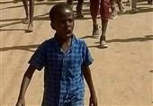 کودکی که نماد اعتراضات گسترده در سودان شد