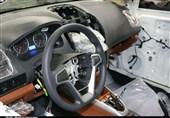 کرمان  خط تولید کارخانه خودروسازی بم به روایت تصویر