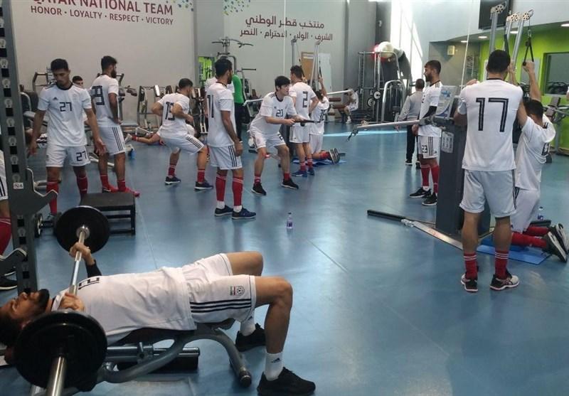 چند تصویر از تمرین امروز تیم ملی