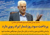 فتوتیتر| بهمنی : پرداخت سود روزشمار ایراد ربوی دارد