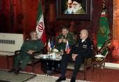معاون ستادکل نیروهای مسلح روسیه با سردار فدوی دیدار کرد