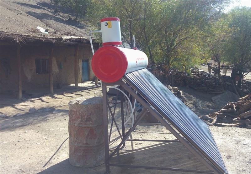 لرستان  75 دستگاه آبگرمکن خورشیدی در روستاهای الیگودرز نصب شد