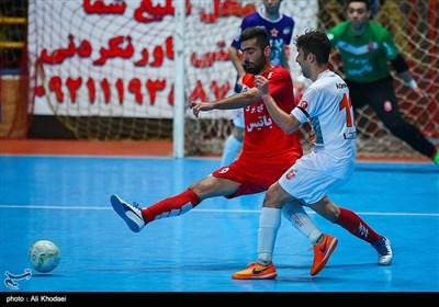 دیدار تیمهای فوتسال گیتی پسند و مس سونگون - اصفهان