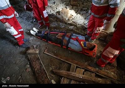 مانور امداد رسانی در زلزله - بندرگز