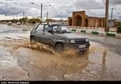 بارش باران و احتمال آبگرفتگی معابر عمومی در 5 استان