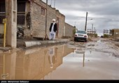 شہر خواف میں بارشیں اور سیلاب
