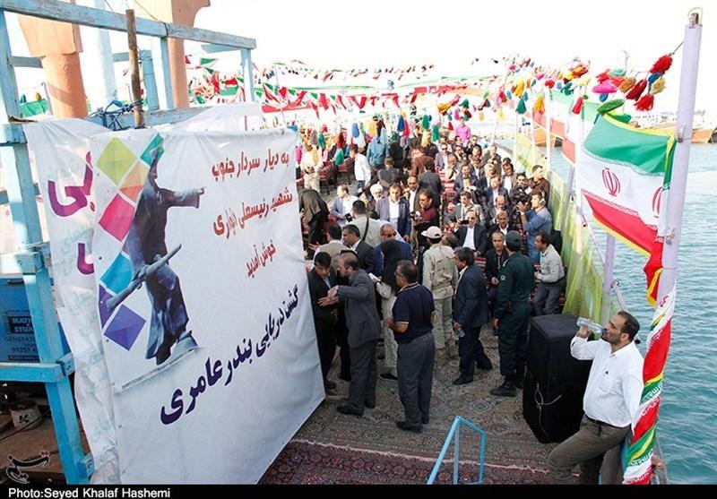 هدیه ویژه بوشهریها به وزیر کشور+تصاویر