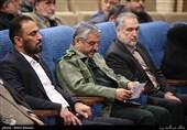 سردار محمدعلی جعفری در چهارمین سالگرد شهید مدافع حرم، سردار سیدحمید تقوی