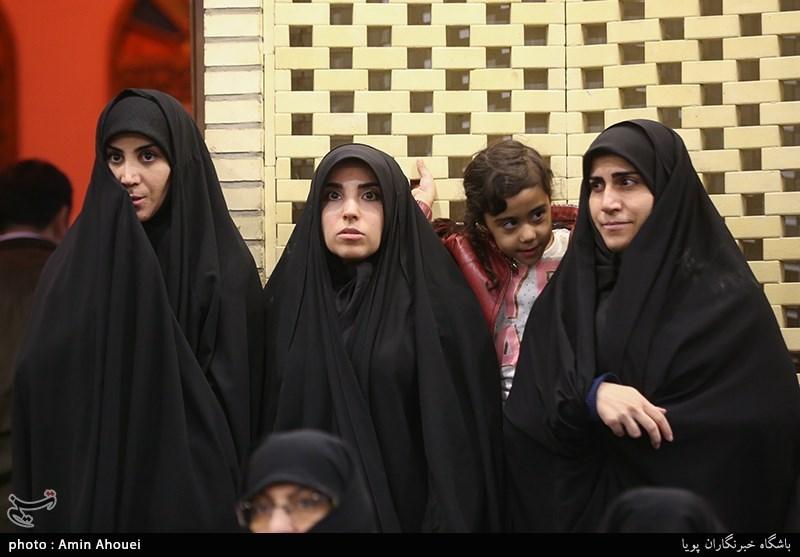 فرزندان شهید مدافع حرم سردار سیدحمید تقوی