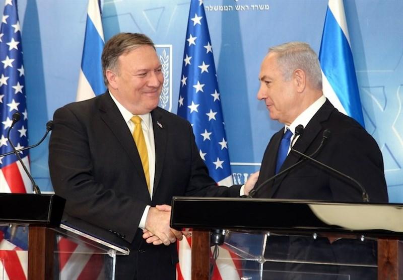 حمایت پامپئو از حمله رژیمصهیونیستی به سوریه در تماس تلفنی با نتانیاهو