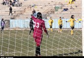 جشنواره گل راهیاب مقابل آذرخش در دیدار معوقه لیگ برتر فوتبال بانوان