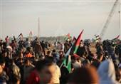 آغاز چهلمین راهپیمایی جمعه بازگشت در مرزهای شرقی غزه؛ یک فلسطینی به شهادت رسید