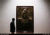 نمایشگاه نقاشی حسن روحالامین با عنوان «الحق مع علی» افتتاح شد +عکس