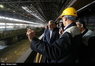 بازدید مدیر عامل و مدیران ارشد خبرگزاری تسنیم از شرکت ذوب آهن اصفهان