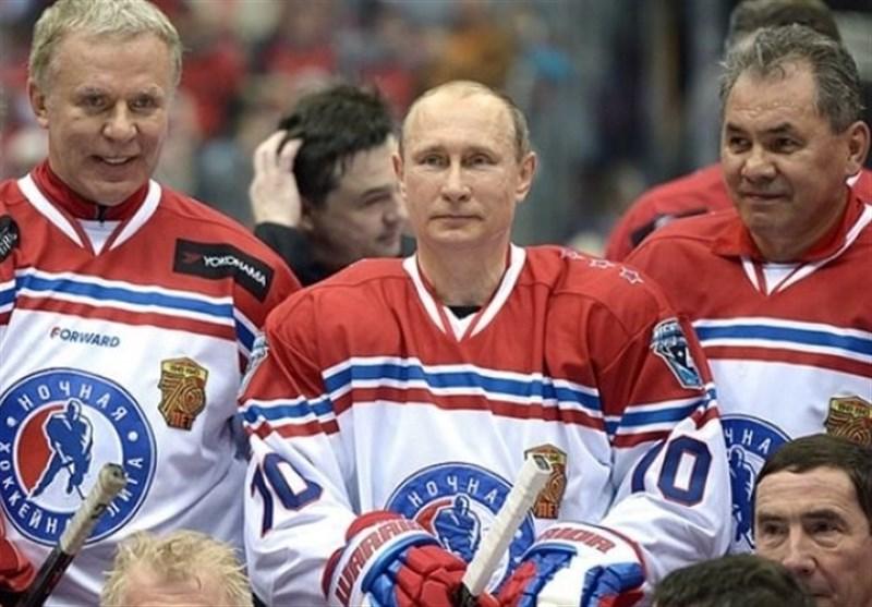 پیروزی تیم هاکی پوتین و وزیر دفاع روسیه در میدان سرخ مسکو + تصاویر