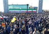 گرامیداشت نهمین سالگرد حماسه 9 دی در تهران آغاز شد + عکس