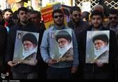 تجمع مردم بجنورد در سالروز حماسه نهم دی به روایت تصویر