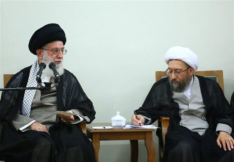 آیتالله آملی لاریجانی با حکم امام خامنهای رئیس مجمع تشخیص شد