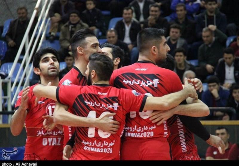 والیبال ارومیه شناسنامه والیبال ایران است