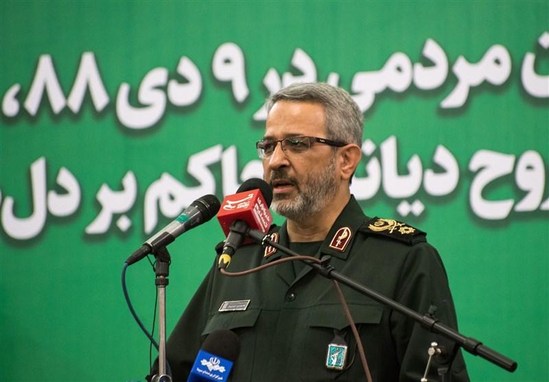 سردار غیبپرور در مشهد: مهمترین رمز استمرار انقلاب فعالیت شبکهای و سازمانی است