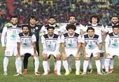 حضور میلاد نوری در تمرین تیم الزوراء عراق