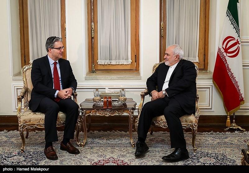 دیدار و خداحافظی رضا هاکان تکین سفیر ترکیه با محمدجواد ظریف وزیر امور خارجه