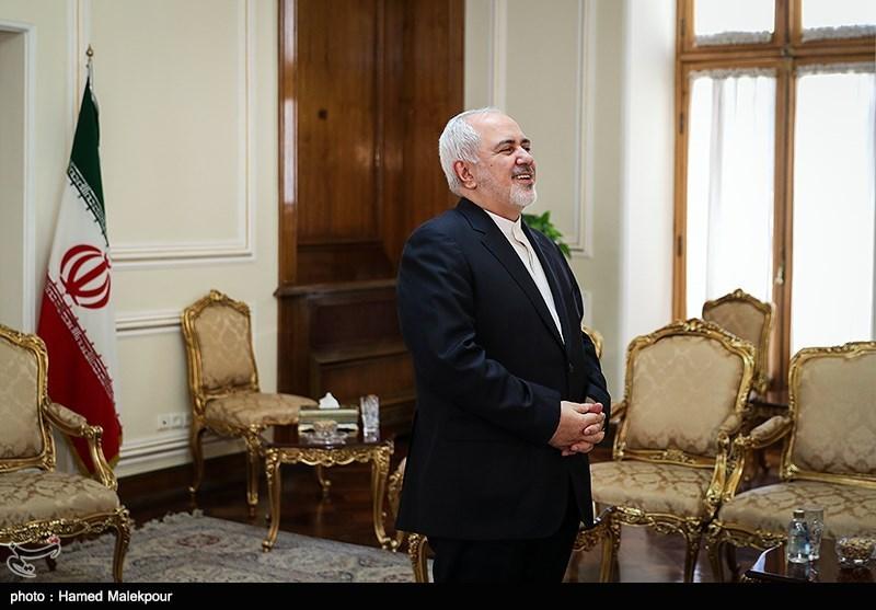 محمدجواد ظریف وزیر امور خارجه قبل از دیدار با سفرای ترکیه و هند
