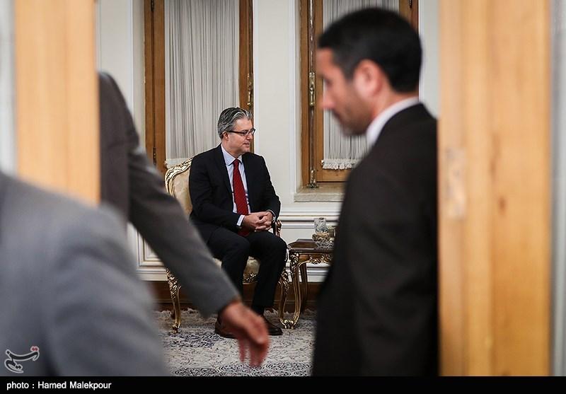رضا هاکان تکین سفیر ترکیه در دیدار با وزیر امور خارجه