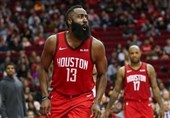 لیگ NBA|پیروزی وریرز با درخشش کری/ هاردن از رکورد اسکار رابرتسون گذشت