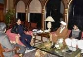 تاکید عمران خان بر حل مشکلات زوار پاکستانی در دیدار با دبیرکل مجلس وحدت مسلمین
