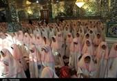 جشن تکلیف دانش آموزان دختر مدارس بجنورد به روایت تصویر