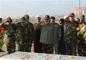 بازدید فرمانده ارتش از تیپ 377 نزاجا