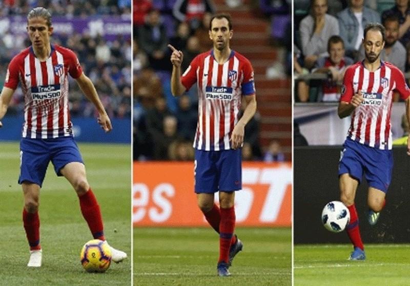 فوتبال جهان| 3 مدافع کلیدی اتلتیکومادرید آماده مذاکره با مشتریان جدید