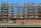 ساختمانهای خالی از سکنه؛ برگی دیگر از مشکلات شهرک گلستان بجنورد+تصاویر
