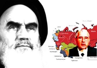 موشن گرافیک | ماجرای نامه امام به گورباچف