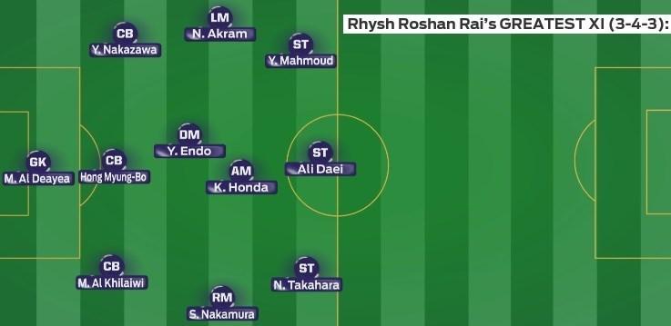 %فاطر24- ۳ ایرانی در تیم منتخب تمامی ادوار جام ملتهای آسیا+ تصاویر