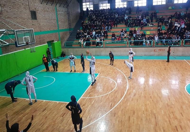 پلی آف بسکتبال بانوان| پیروزی دانشگاه آزاد و هیرو برابر حریفان
