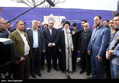 آیین آغاز عملیات اجرایی ساخت 2120 واحد مسکونی حاشیه شهر مشهد