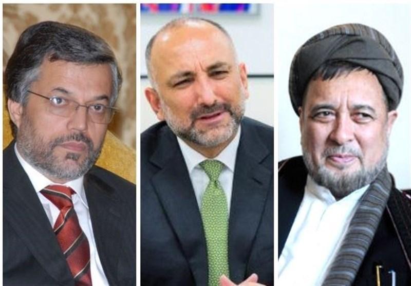 توافق «اتمر»، «قانونی» و «محقق» درباره تیم مشترک انتخاباتی در افغانستان