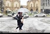 """آغاز موج تازه بارش """"برف و باران"""" در 12 استان/ احتمال وقوع بهمن در 5 استان"""