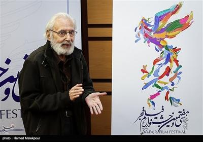 رونمایی از پوستر سیوهفتمین جشنواره فیلم فجر توسط جمشید مشایخی