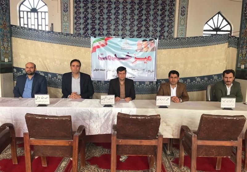بوشهر| مشکلات قضایی و حقوقی مردم دیلم در میز خدمت نماز جمعه بررسی شد