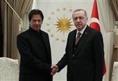 عمران خان به ترکیه رفت
