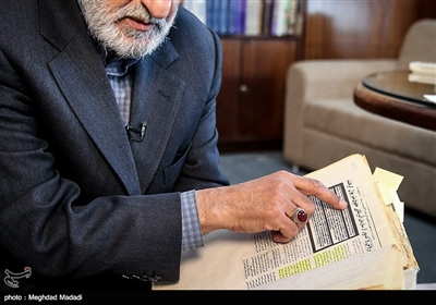 مصاحبه اختصاصی تسنیم با حسین شریعتمداری مدیر مسئول روزنامه کیهان